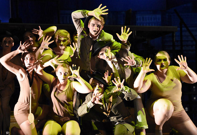 the perennial Broadway favorite, The Threepenny Opera